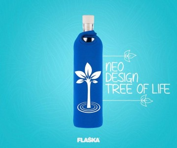 Flaška Neo Design 0,75l Tree Of Life