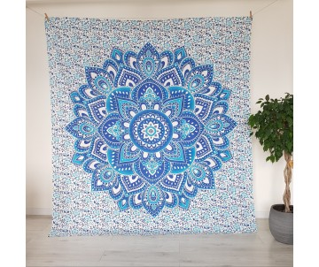 Mandala Modrá Lotos