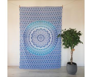 Twin Mandala Modrá