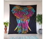 Batika slon čierna