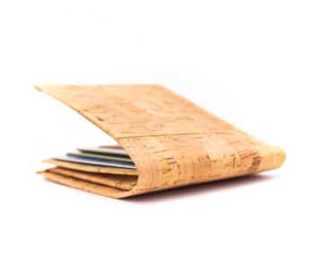 Korková peňaženka pánska Slim