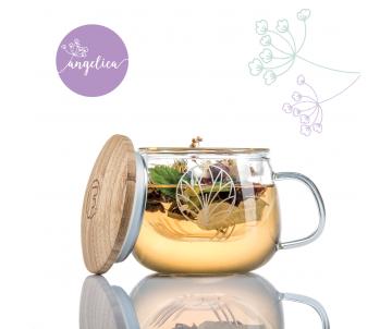 Angelica šálka na čaj