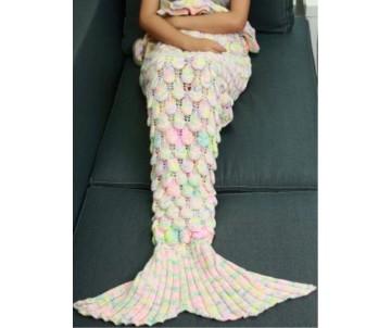 morska panna deka pre deti chvost