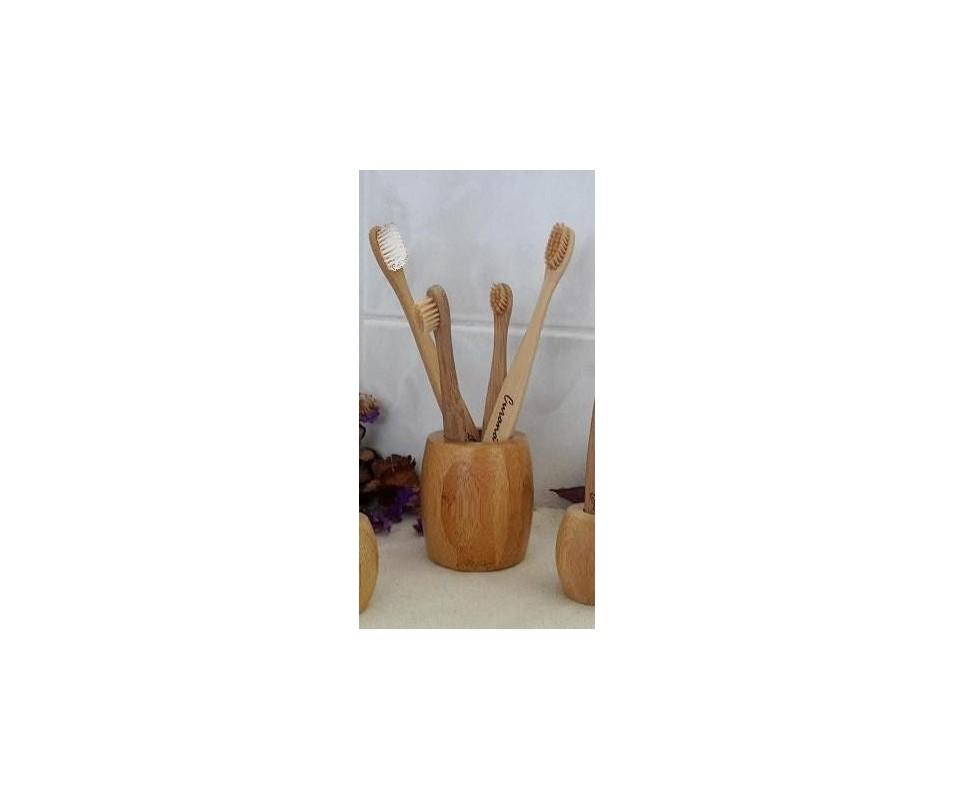 Bambusové kefky Rodinná sada