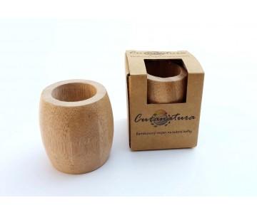 Bambusový stojan na kefky