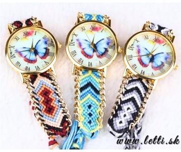 Hodinky Motýľ