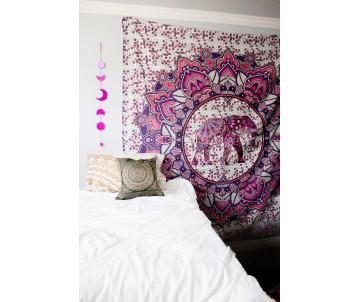 Mandala Sloník Ružová