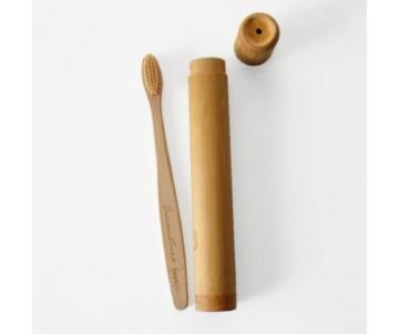 Cestovné Bambusové púzdro na kefku