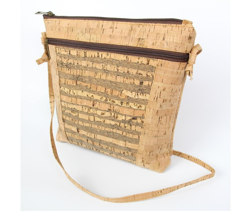 Korková cross taška Natural