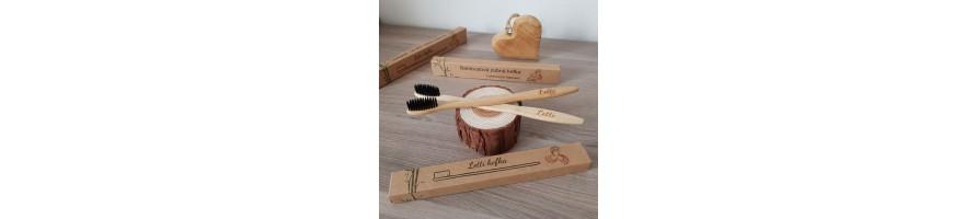 Bambusove zubne kefky