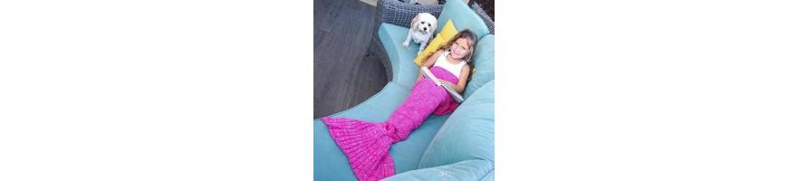 Morská panna deka